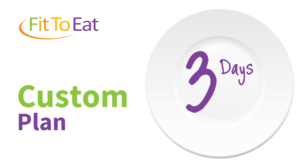 Fit To Eat - Custom 3 Day Plan